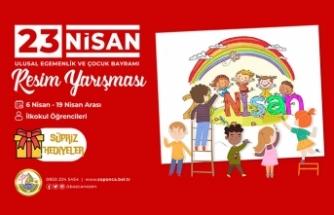 Sapanca Belediyesi'nden 23 Nisan Konulu Resim Yarışması
