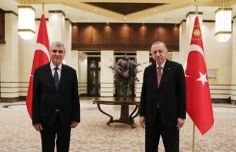 Cumhurbaşkanı Erdoğan, Başkan Yüce'den Sakarya'yı dinledi