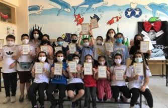 """Sabihahanım Ortaokulunda """"Çevre Kirliliği ve Atık Yönetimi"""" konulu Yaratıcı Drama Etkinliği"""