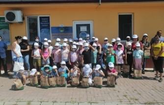 Büyükşehir Belediyesi öğrencileri minik dostları ile buluşturdu
