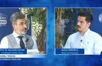 """Doğru Tercih """"SAÜ Fen Edebiyat Fakültesi"""""""