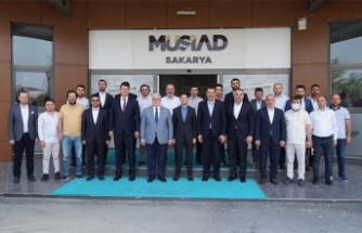 Müsiad Ak Parti Genel Başkan Yardımcısını Ağırladı