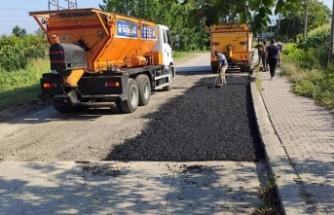 Pireahmetler Mahallesi'nde güvenli ulaşım için çalışmalar tamamlandı