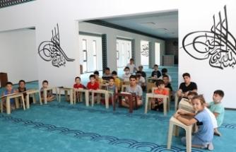 Yaz Kur'an-I Kerim Kurslarında Spora Devam