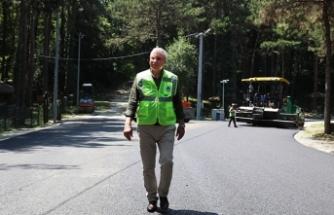 Baştan sona yenilenen Büyükşehir İl Ormanı sezonun gözdesi olacak