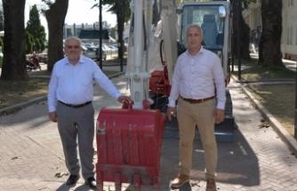 Hendek Belediyesi Mini Paletli Ekskavatör Satın Aldı