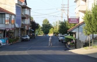 Kocaali'de asfalt serim çalışmaları başladı