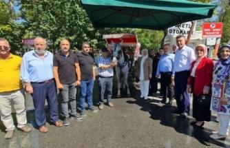 Milletvekili Çiğdem Erdoğan Atabek'in Sapanca Ziyareti