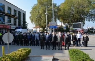 19 eylül Gaziler Günü Hendek´te törenle kutlandı