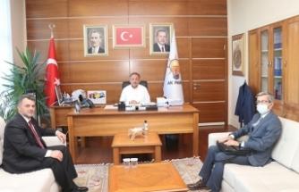 Başkan İshak Sarı, Ankara Ziyaretlerine Devam Ediyor