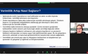 İş yerinde Verimlilik Artırma Teknikleri SATSO'da Anlatıldı