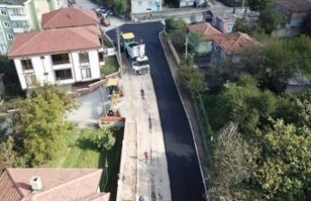 Karasu'da Asfalt Çalışmaları Sürüyor