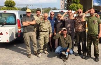 Taraklı'lı Avcılardan Mehmetçiğe Selam