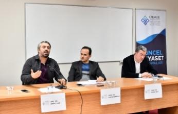 SAÜ'de Güncel Siyaset Konuşmalarında İdlib Ele Alındı