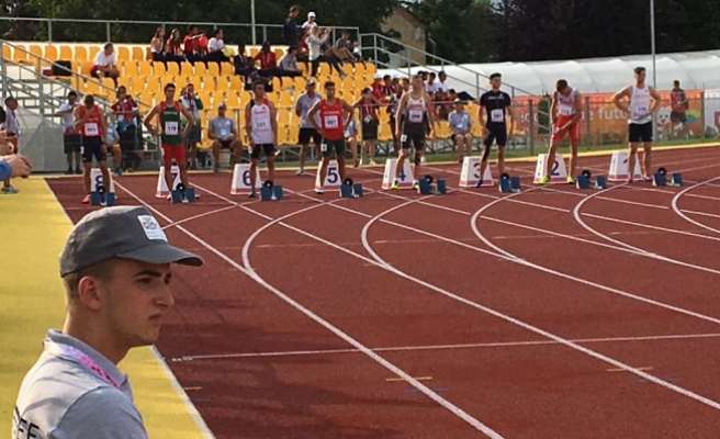 Büyükşehirli Atletizmci EYOF'ta dereceye girdi