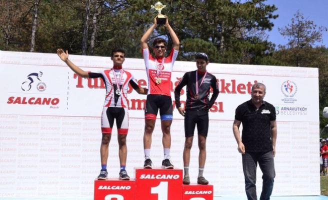 Büyükşehirli bisikletçiler Türkiye Şampiyonu