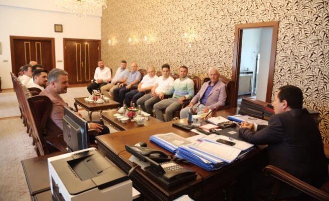 Karasu Belediyesi'nden Balkanlıoğlu'na Ziyaret