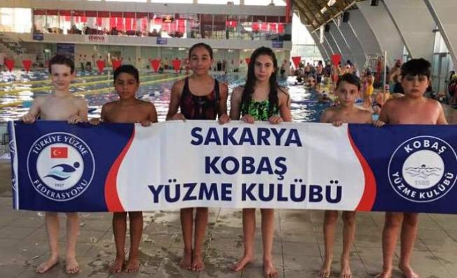 Kobaş Yüzme Kulübü'nde hedef belli