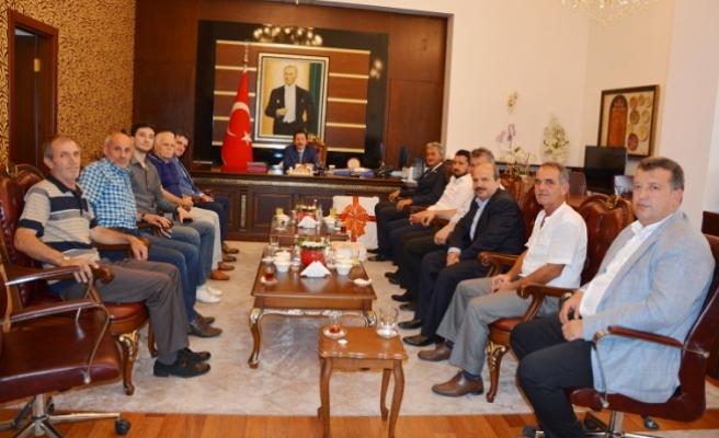 Başkandan Valiye Osmanlı Arması