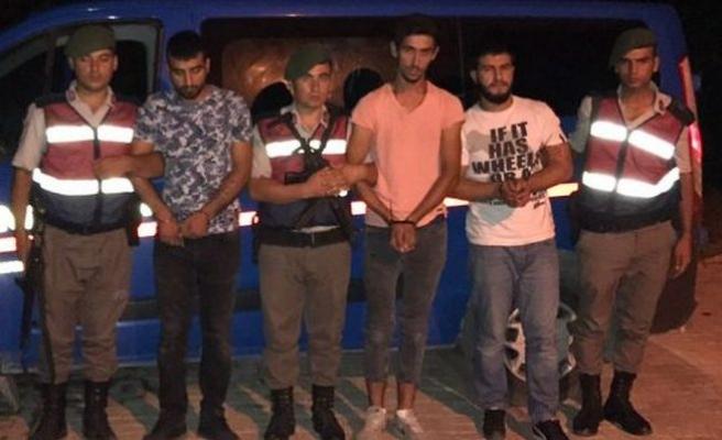 Kocaali'de Yakalanan 6 kişi tutuklandı