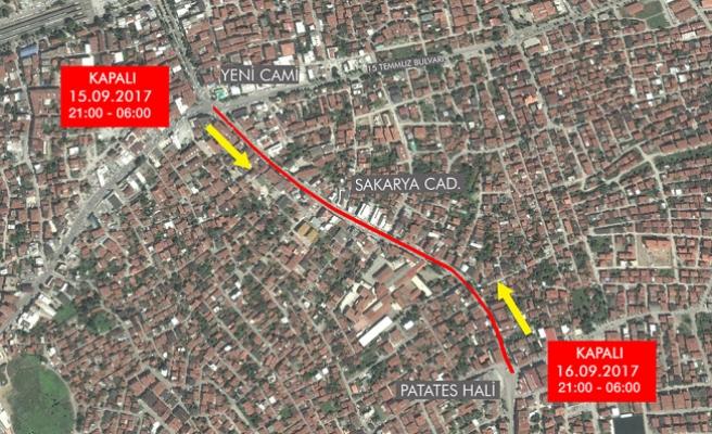 Büyükşehir'den Sakarya Caddesi için uyarı