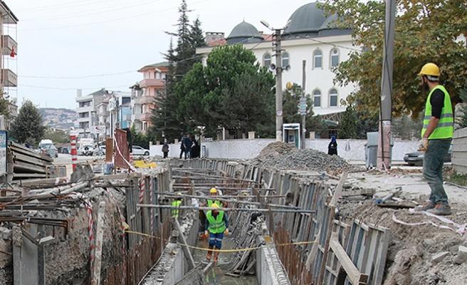 Serdivan'ın yağmursuyuna SASKİ güvencesi