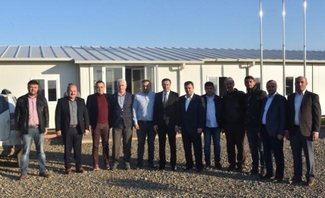 Bakan Yardımcısı Çelik Karasu'daki Yatırımları İnceledi