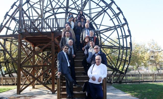 Bulgaristan heyeti yatırımları gezdi