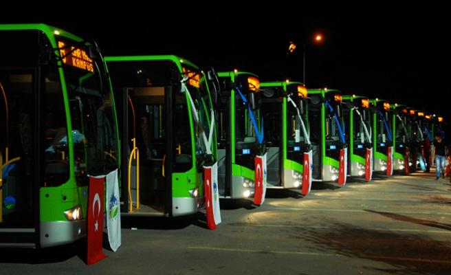Şehir içi ulaşımına 20 yeni otobüs geliyor