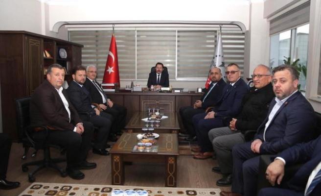 Vali Balkanlıoğlu İade-i Ziyaretlere Devam Ediyor