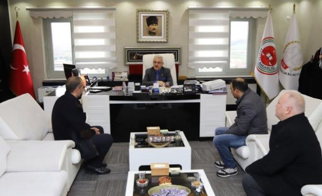 Vuraloğlu'ndan Başsavcısı Dursun'a ziyaret