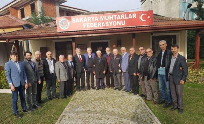 Saadet Partisi Adapazarı İlçe Teşkilatından Teşekkür Ziyareti