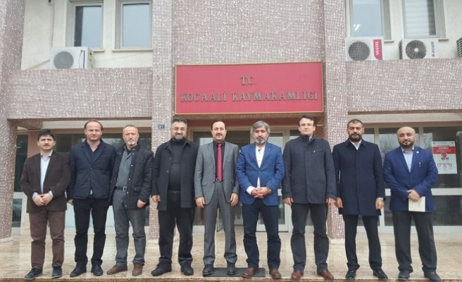 Sivil Toplum Örgütlerinden ÇUHADAR'a Hayırlı olsun ziyareti