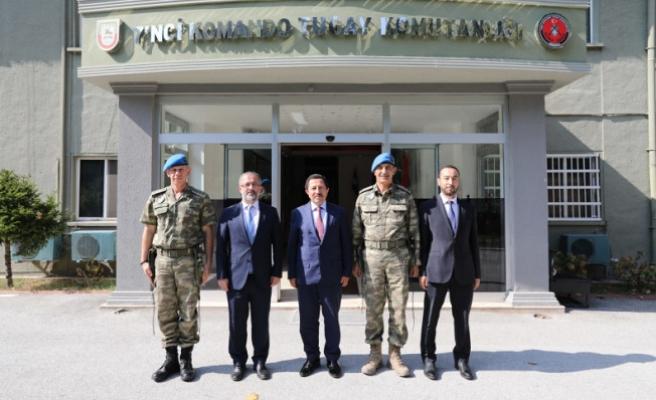 Vali Balkanlıoğlu Tuğgeneral Acartürk'e İade-i Ziyarette Bulundu