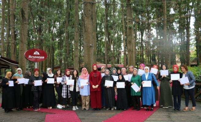 Çocuk Gelişimi Eğitiminde sertifika heyecanı