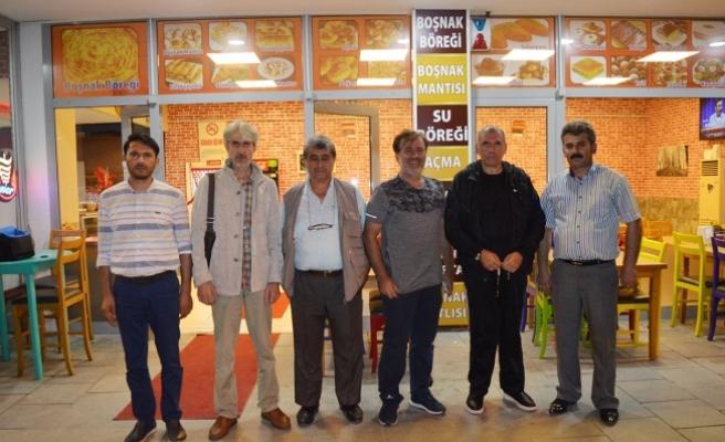 Kadıoğlu emekliliğini dostlarıyla kutladı