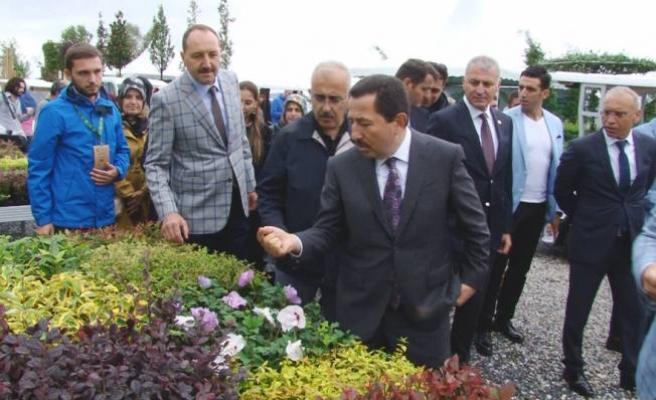Sakarya Peyzaj ve Süs Bitkiciliği Festivali Açılışı Yapıldı