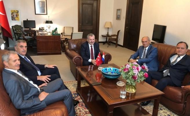Başkan Toçoğlu Büyükelçi Dişli'ye başarılar diledi