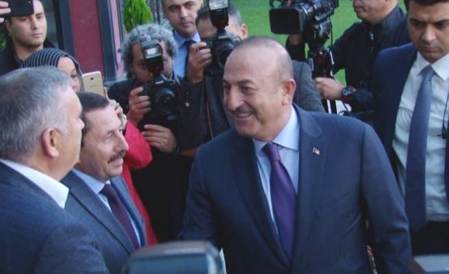 Dışişleri Bakanı Mevlüt Çavuşoğlu Sakarya'da