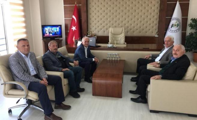 İspiroğlu'ndan, Kaynarca Belediye Başkanı Zeynur Özel'e Geçmiş Olsun Ziyareti