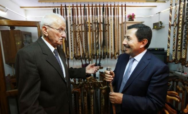 Vali Balkanlıoğlu'ndan Meslek Erbabı Ustalara Ziyaret