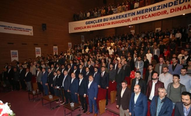 AK Parti hareketini geleceğe taşıyacak olan gençlerdir