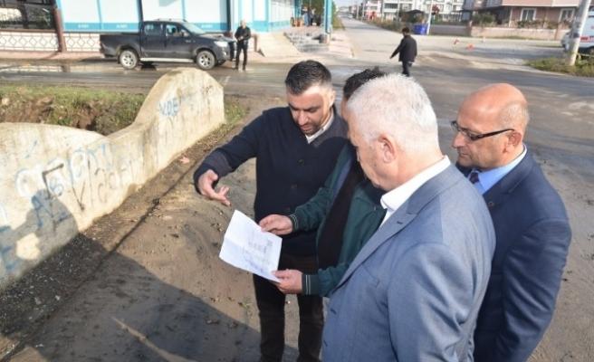 Başkan İspiroğlu Kanal Islah Çalışmalarını İnceledi