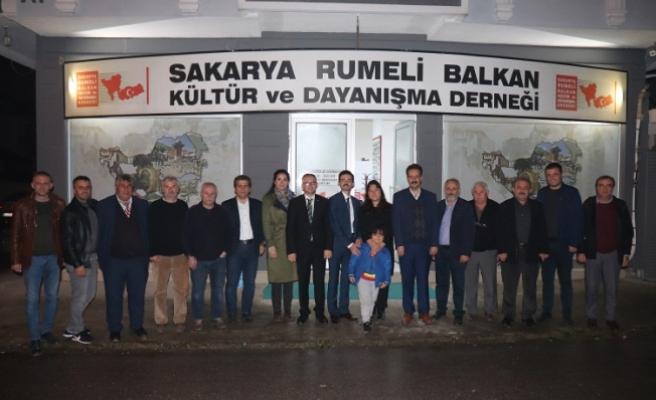 Serdivan güçlenecek diyen Nuri Oktay; Rumeli Balkan'larda
