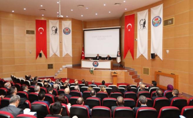 Vali Ahmet Hamdi Nayir İl İdare Şube Başkanları İle Bir Araya Geldi