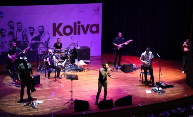 Koliva'dan SAÜ'de coşkulu konser