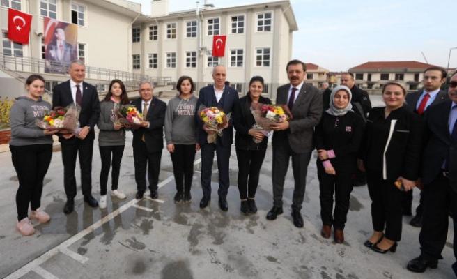 Tobb ve Türk-iş Başkanlarından Vali Nayir'e Ziyaret