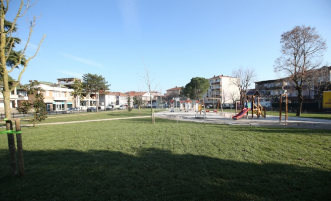 Donatım'ın yeni parkı hizmette