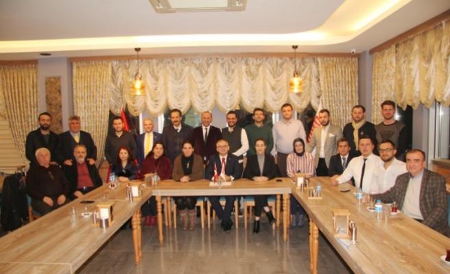 Sakarya Rumeli Balkan Kültür ve Dayanışma Derneği Yönetim Kurulu'nda görev dağılımı gerçekleşti