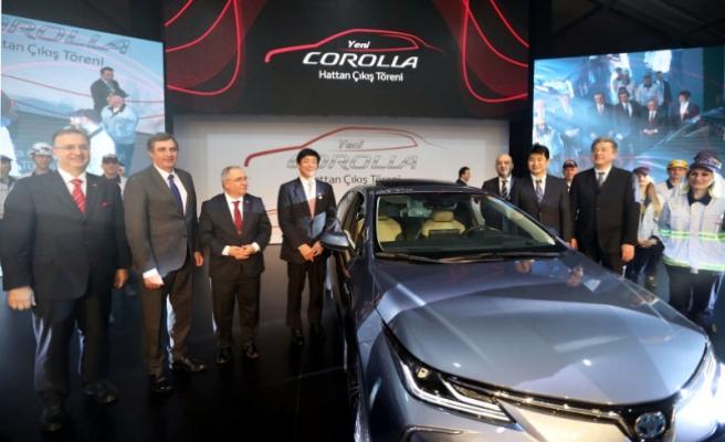 Toyota Corolla Hibrit Modeli İçin Özel Tören Düzenlendi